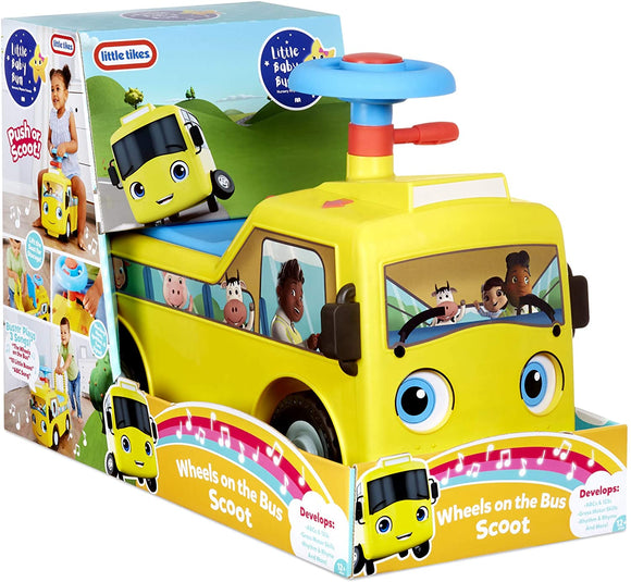 Little Tikes - Little Baby Bum Wheels on the Bus Scoot