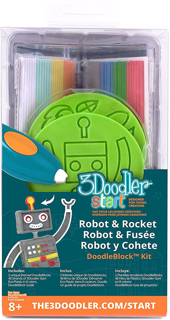 3Doodler Start - Rocket/Robot Set