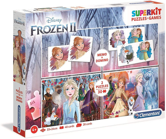 Clementoni Puzzle -  Girls Frozen 2 Superkit