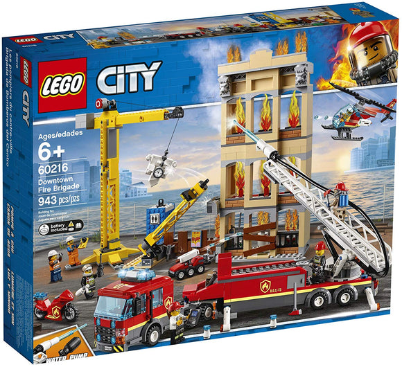 LEGO City/60216/ - Downtown Fire Brigade