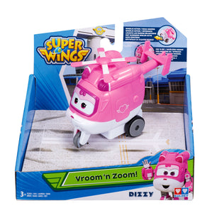"Super Wings - Vroom n' Zoom ""Dizzy"""