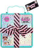 L.O.L. Surprise! Deluxe Present Surprise with Limited Edition Sprinkles Doll and Pet(Teal)