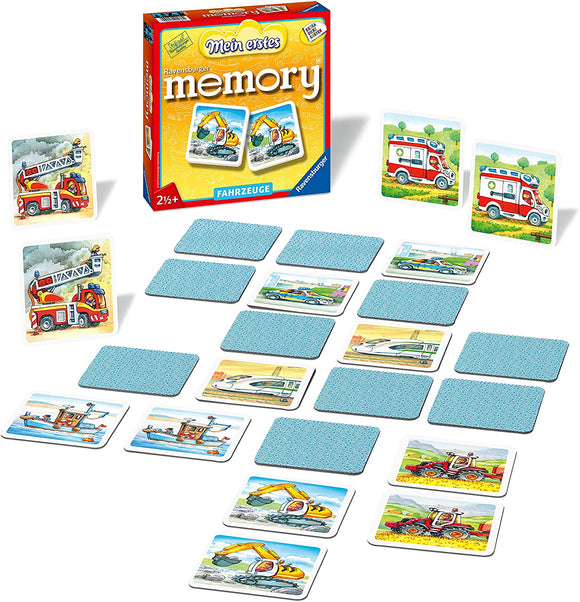 Ravensburger - My first memory Fahrzeuge