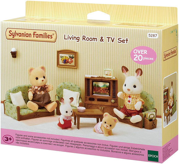 Sylvanian Families - Living Room & TV Set