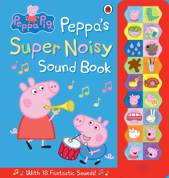 Англи Ном - Peppa's Super Noisy Sound Book