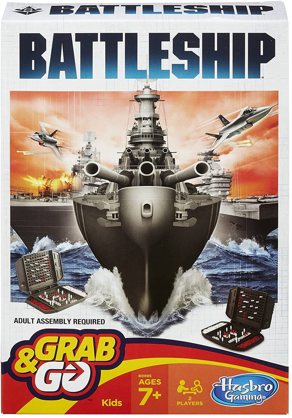 HASBRO Games - Battleship Grab n Go