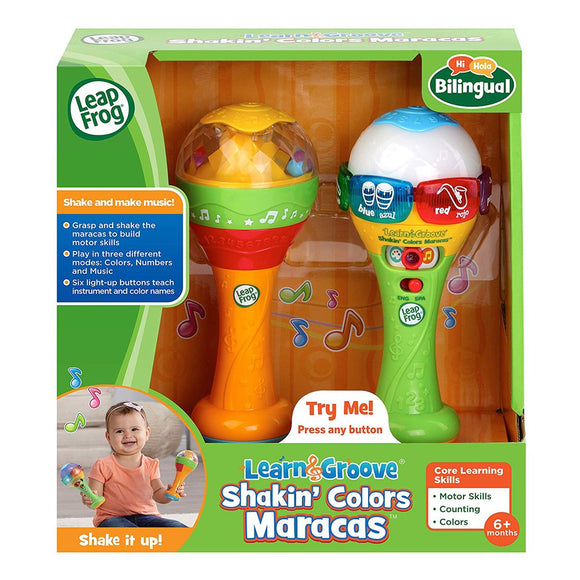 Leapfrog - Learn & Groove Shakin Colors Maracas