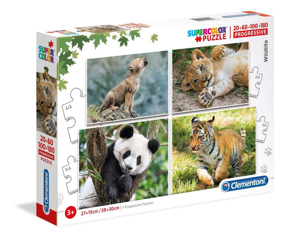Clementoni Puzzle - animal Wildlife