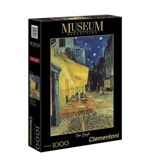Clementoni Puzzle -  CAFE TERRACE AT NIGHT (MUSEUM)