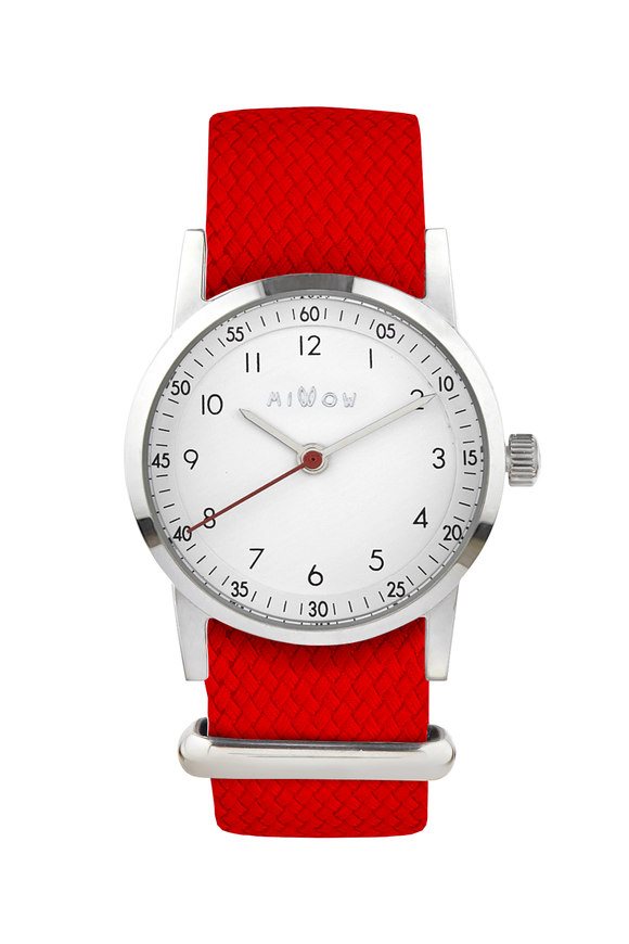 Millow Classique - Braided Red Strap