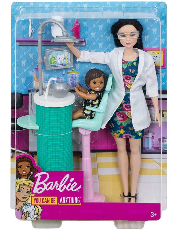 Barbie - Dentist Doll & Playset