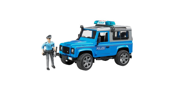 Bruder - Land Rover Defender St.Wagon Police Vehicle