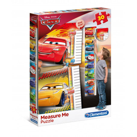 Clementoni Puzzle - Boys Measure me cars 3
