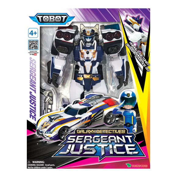 Tobot Galaxy Detectives - Sergeant Justice