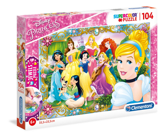 Clementoni Puzzle - Girls Jewels Princess