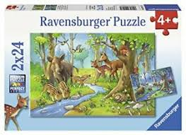 Ravensburger puzzle - Animals of the Forest 2x24pc