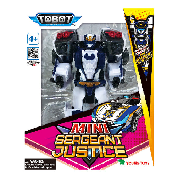 Tobot Galaxy Detectives - Mini Sergeant Justice
