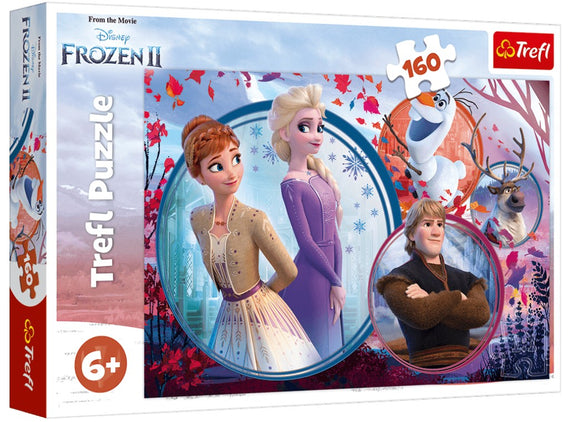 Trefl puzzle - Girls 160 Sister adventure / Disney Frozen 2