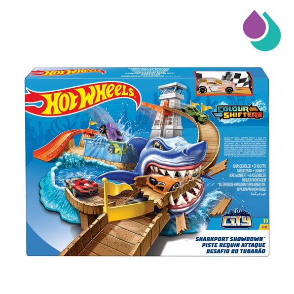 Hot Wheels - Color Shifters Sharkport Showdown PlaySet
