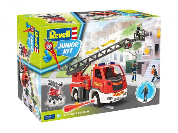 Revell - Fire Truck Ladder Unit w/figure