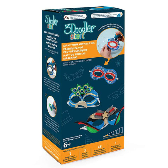 3Doodler Start - Masks Doodle Mould Kit