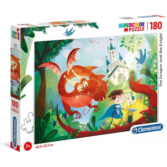 Clementoni Puzzle - Boys Dragon and Knight