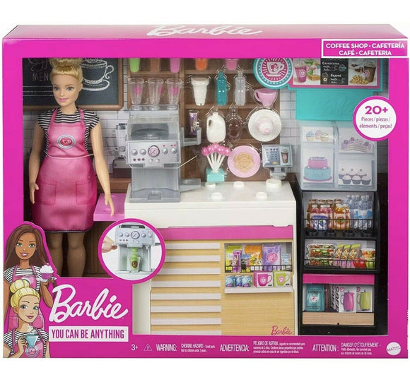 Barbie - Coffee Shop With Doll