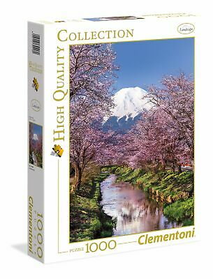 Clementoni Puzzle - Art Fuji mountain