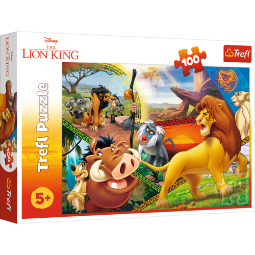 Trefl Puzzle - Boys The King Lion