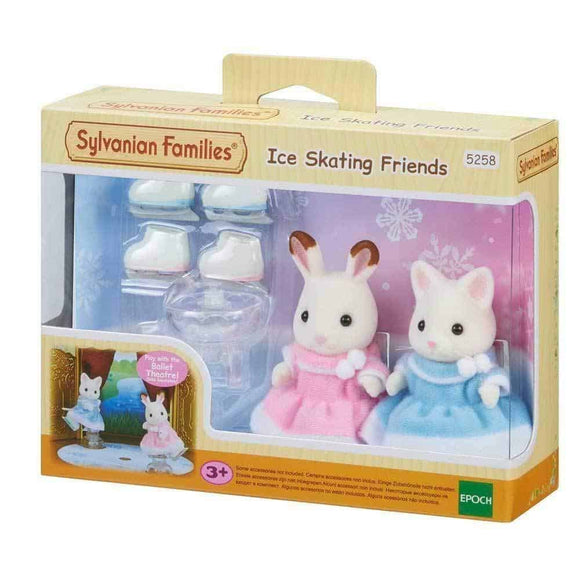 Sylvanian Families -  Ice Skateing Friends