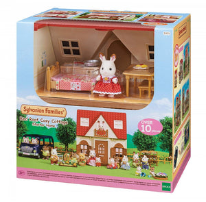 Sylvanian Families - Red Roof Cosy Cottage Starter Home