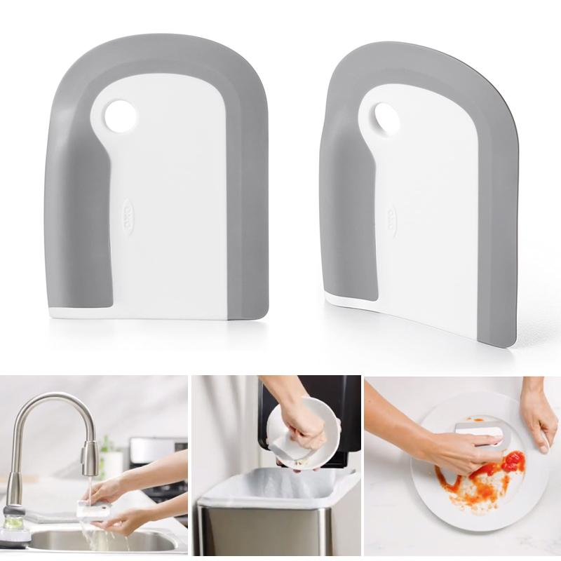 Dinner Plate Soft Rubber Cleaning Tool