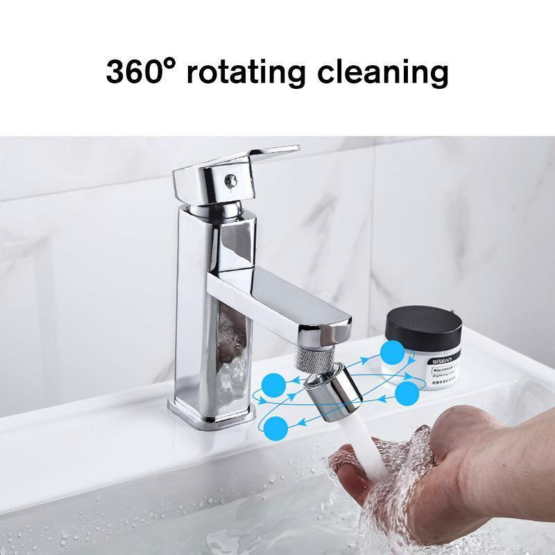 Rotatable Bubbler Faucet Head