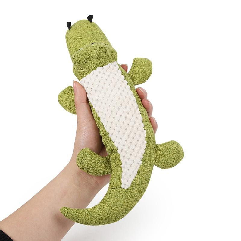 Pet crocodile toy