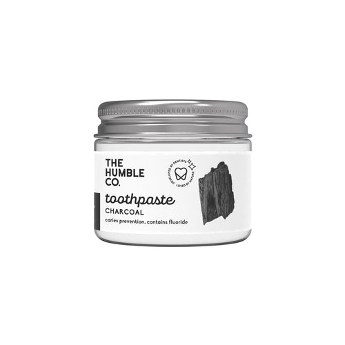 Tandkräm i glasburk (Charcoal - 50 ml)