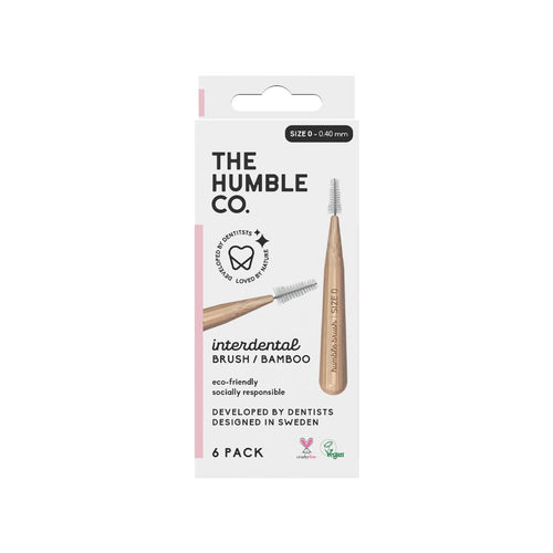 The Humble Co. Bamboo Interdental Brush Stl 0 (0,4 mm) 6 st