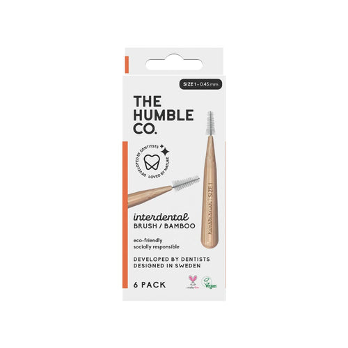 The Humble Co. Bamboo Interdental Brush Stl 1 (0,45 mm) 6 st