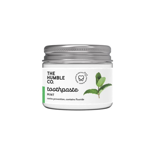 Tandkräm i glasburk (Fresh mint - 50 ml)