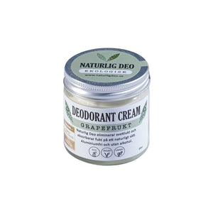 Deodorant Cream EKO 60ml - Grapefrukt