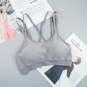 Breathable Yoga Push Up Bra