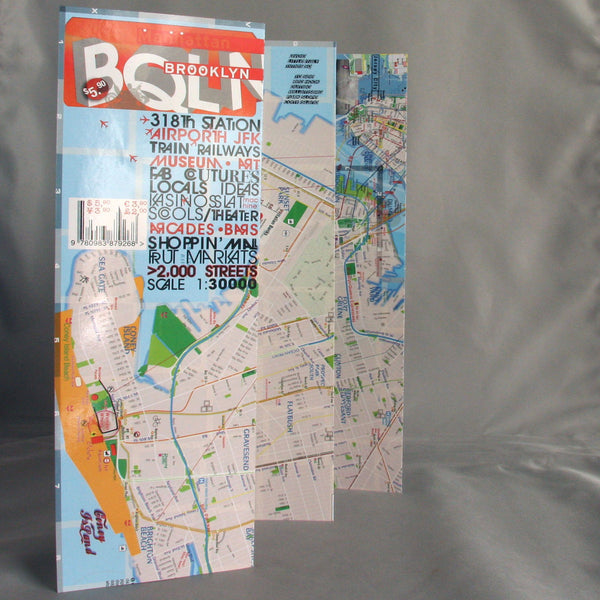 Cover Brooklyn Map NYC