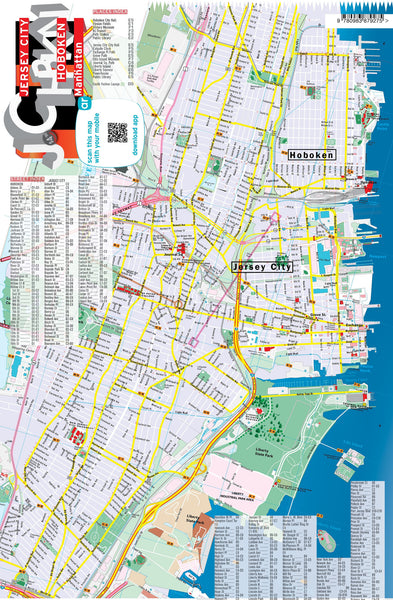 DIGITAL Map - Jersey City / Hoboken