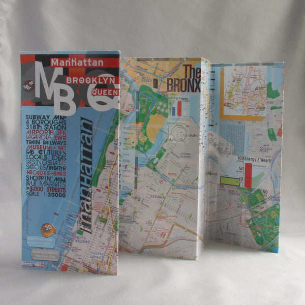 Subway Map Paper Products.Map New York Manhattan Brooklyn Queens Theaters Subway Transit Museums Streets Parks Restaurants Available