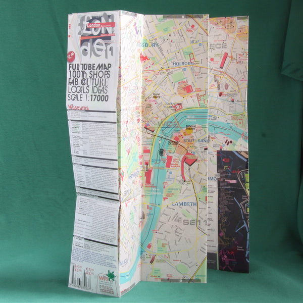 Map Guide Laminated London POCKET