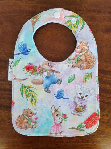 Sweet Aussie Animals Bib