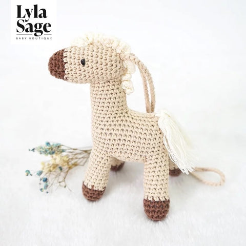 Horse Crochet Hanging Toy
