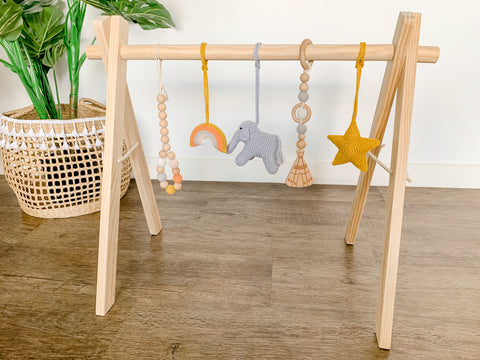 Boho Wooden Playgym