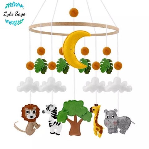 Safari Animal Baby Mobile