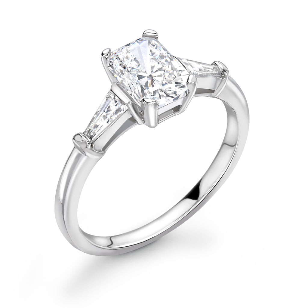 Platinum Dimaond Solitaire Ring