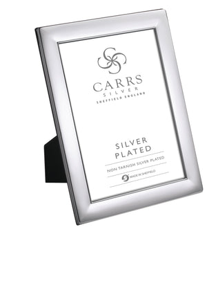 Silver Plated Plain Photo Frame